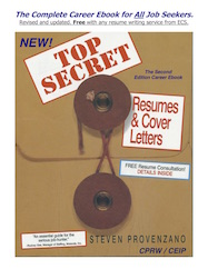 Top Secret Resumes & Cover Letters 2013